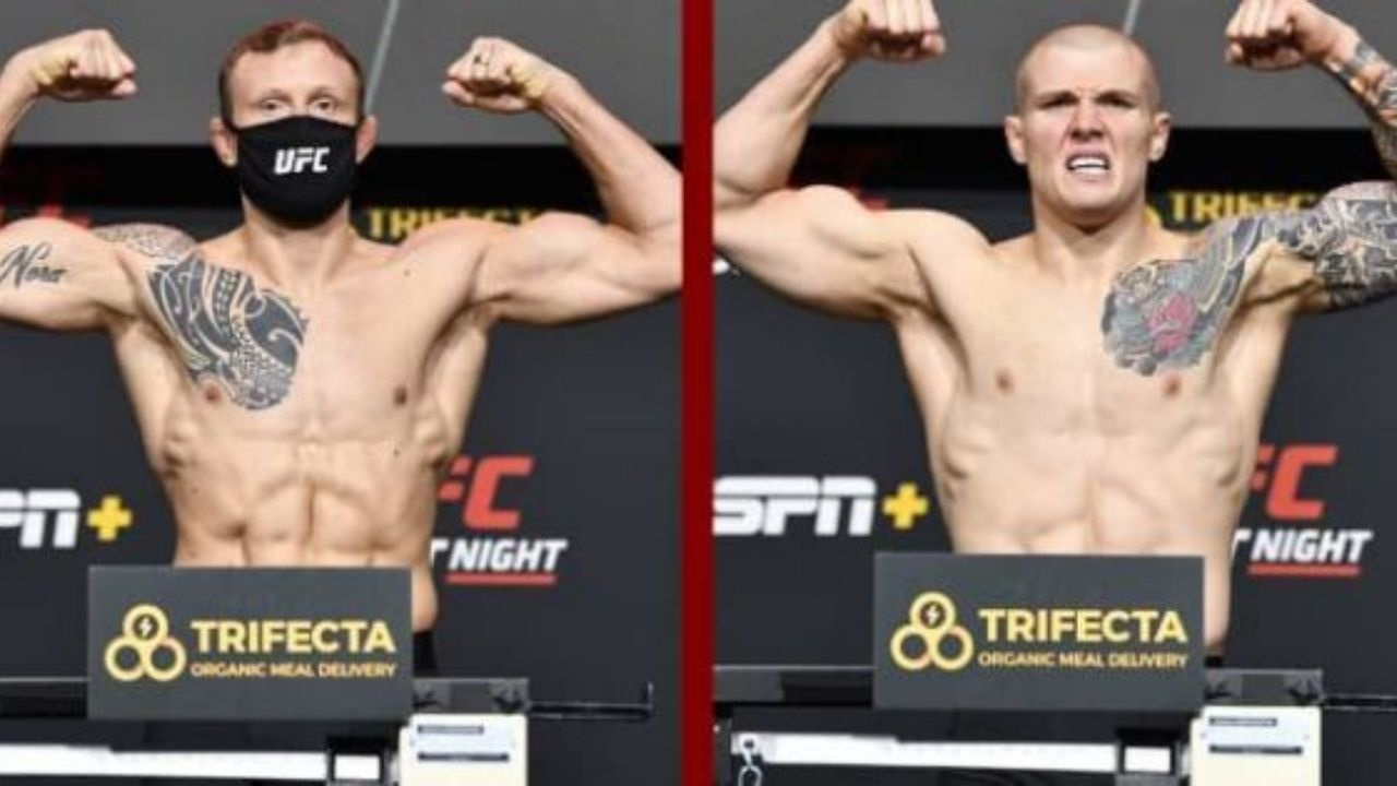 UFC Vegas 16 Live Updates: Full Fight Card, Streaming Details, Results and Highlights