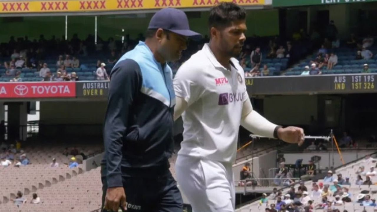 Umesh Yadav injury: Watch Indian pacer hobbles after suspicious landing in Melbourne Test; walks off