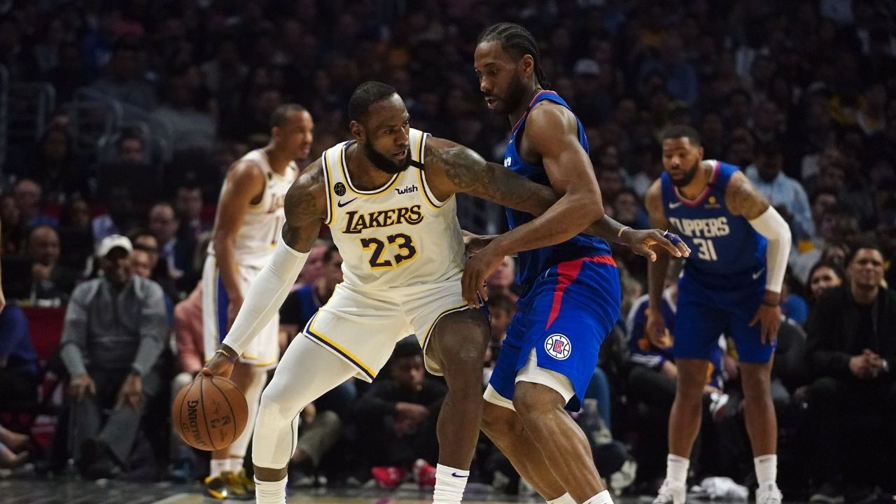 'The Clippers had been talking s*** all year': Lakers' LeBron James takes a dig at Kawhi Leonard and co for meltdown in NBA Bubble