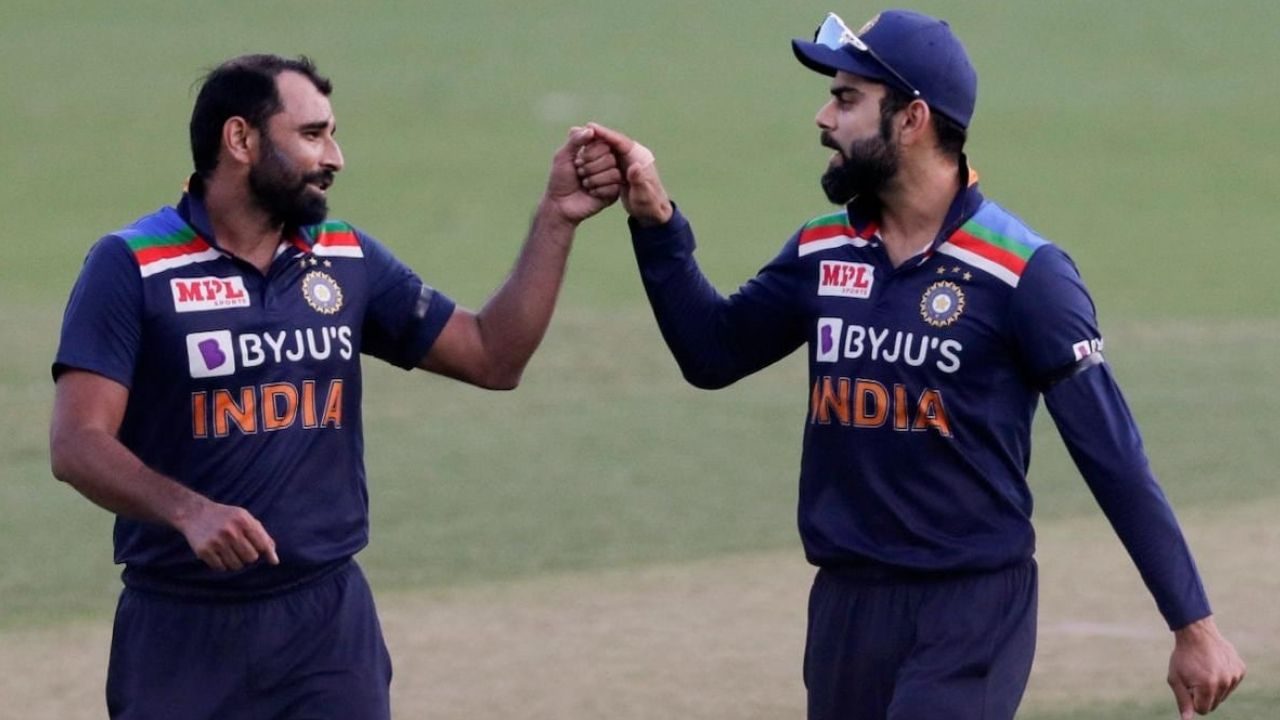 Why is Mohammed Shami not playing today's 3rd ODI between Australia and India?