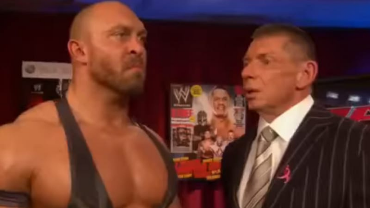 Ryback reveals that Vince McMahon's health isn't doing so great