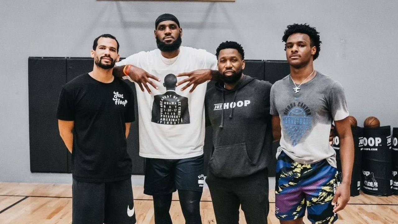 'I'll be a free agent when Bronny graduates high school': LeBron James reveals best thing about his extension with Lakers