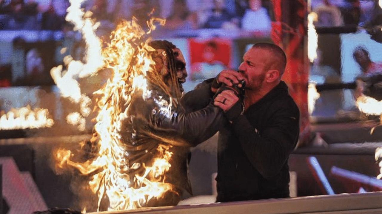 "Randy Orton burns ""The Fiend"" Bray Wyatt to win Firefly Inferno Match at WWE TLC"