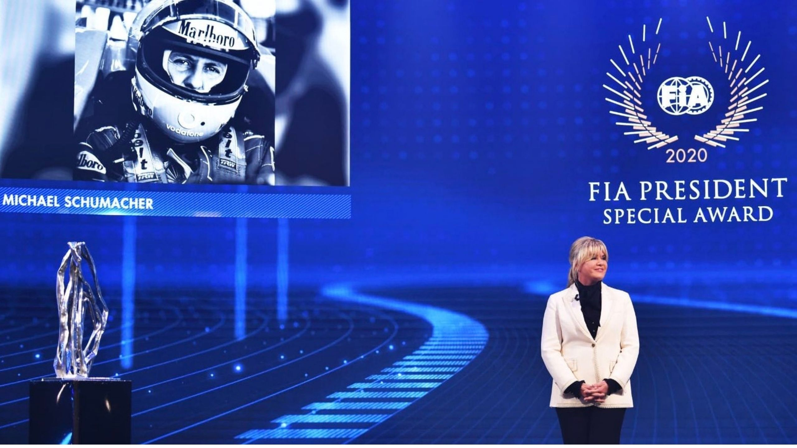 """""""Michael and Lewis are champions but also incredible human beings"""" - Schumacher and Hamilton receive FIA President's Special Award at annual F1 Prize Giving Ceremony"""
