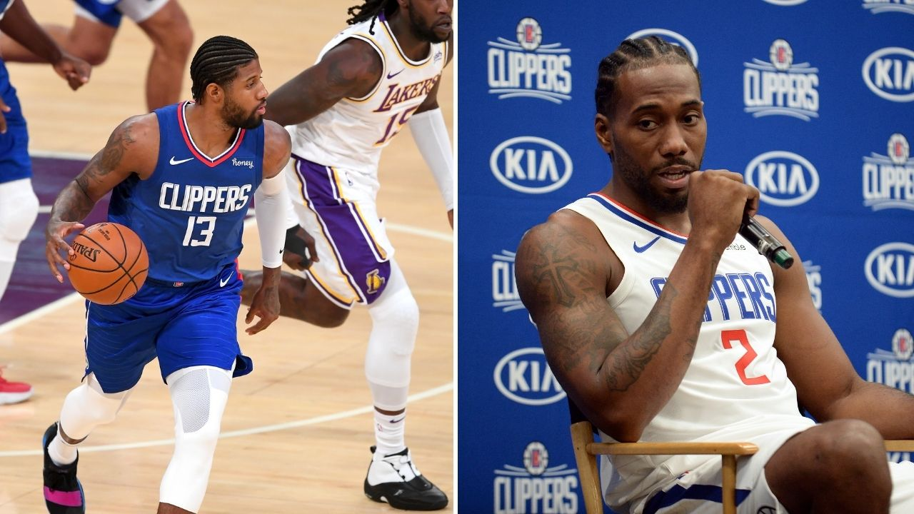"""""""Last year Paul George was missing shots and still communicating"""": Kawhi Leonard comments on Clippers star's playoff woes"""