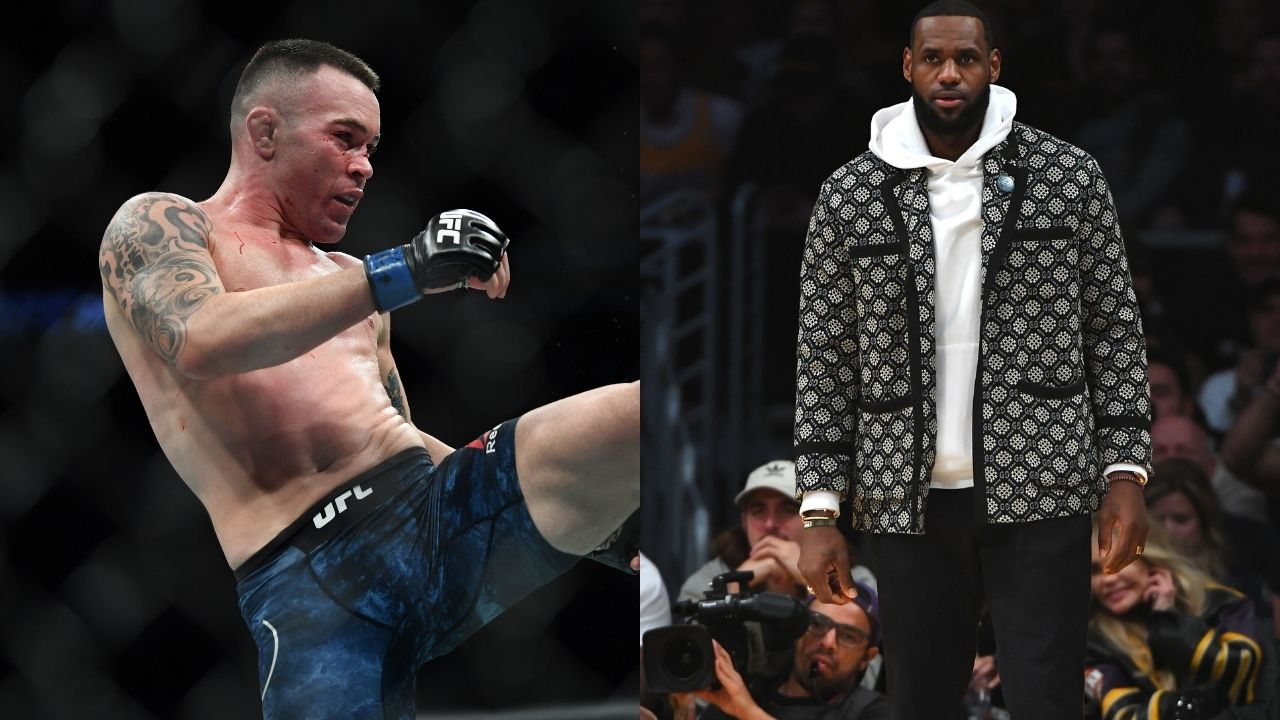 'People who wear masks in cars doubt this, fools': Colby Covington takes shots at Lakers star LeBron James, Joe Biden and their fans all at once
