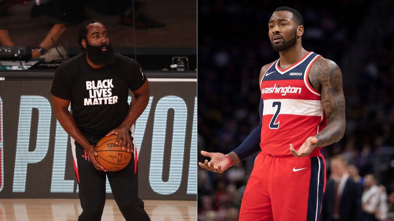 """I don't want to ask him anything"": John Wall says he doesn't want to talk to James Harden about leaving Rockets"