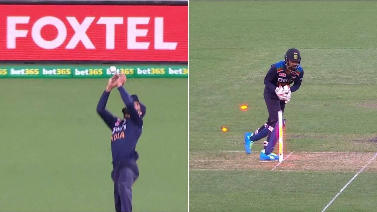 Matthew Wade dismissal: Watch Virat Kohli runs-out Australian captain after dropping a sitter in Sydney T20I