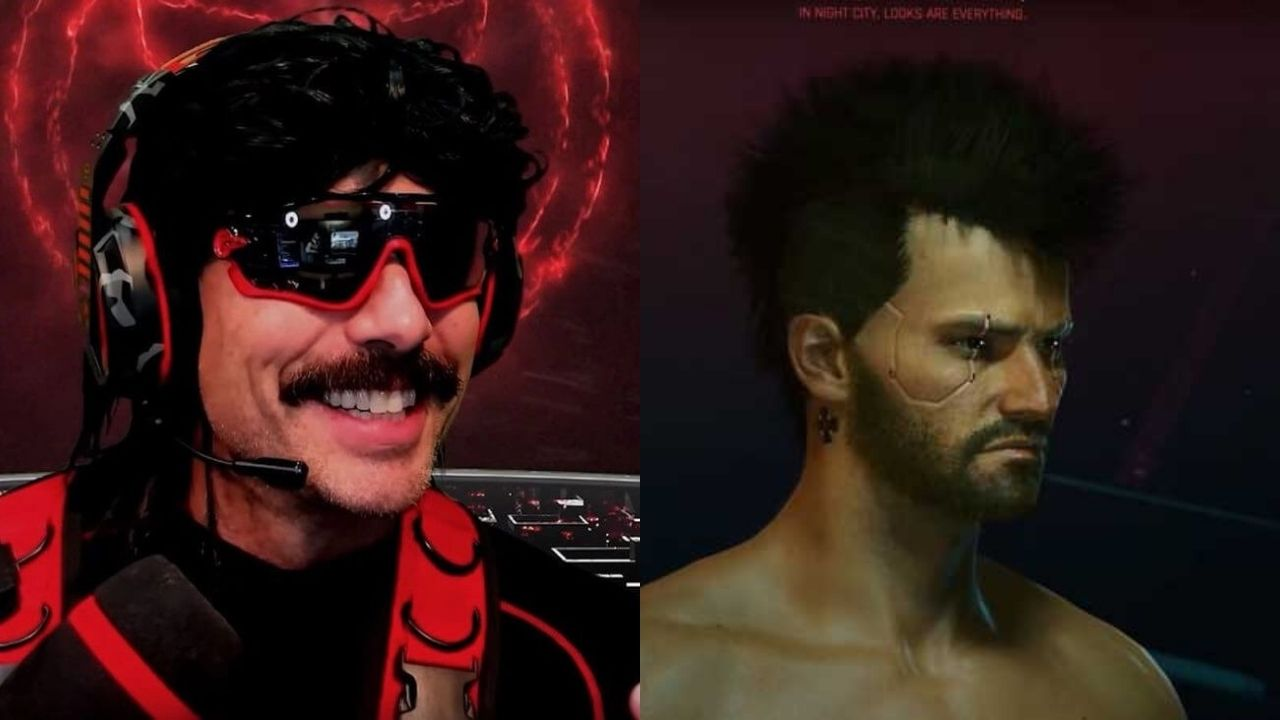 """""""Show us the d**k Doc"""": Redditors go crazy as Dr Disrespect adjusts genitals for his Cyberpunk 2077 character on live stream"""