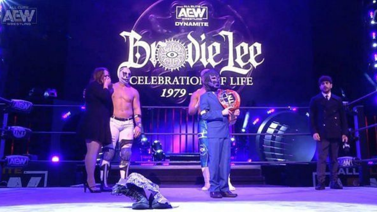Brodie Lee Jr. declared TNT Champion for life on AEW Dynamite