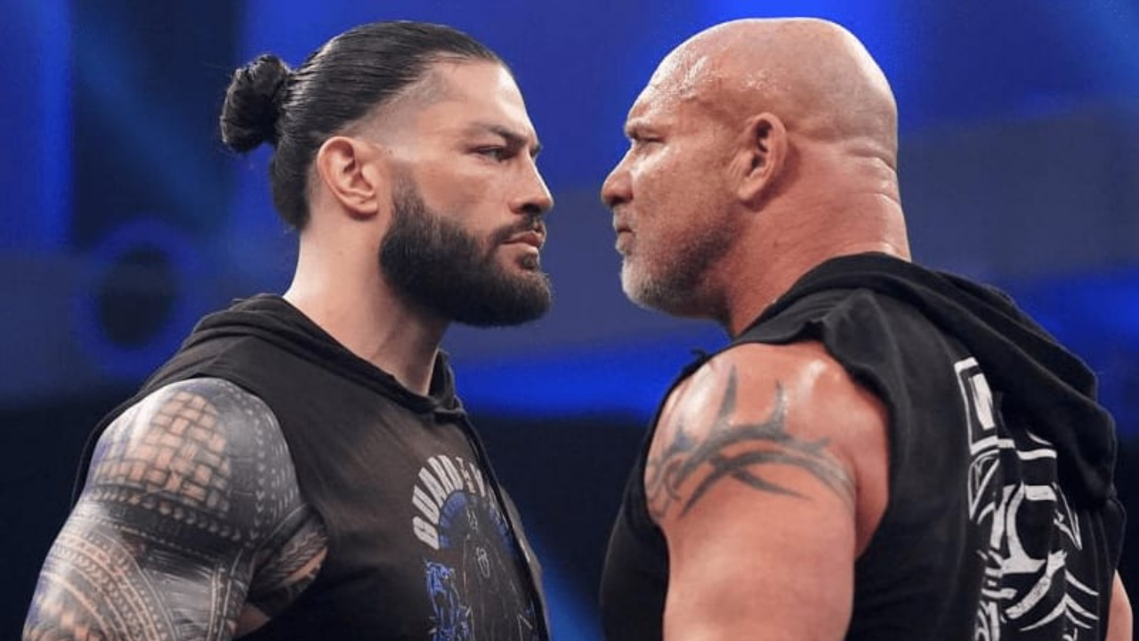 Roman Reigns responds to Goldberg's warning