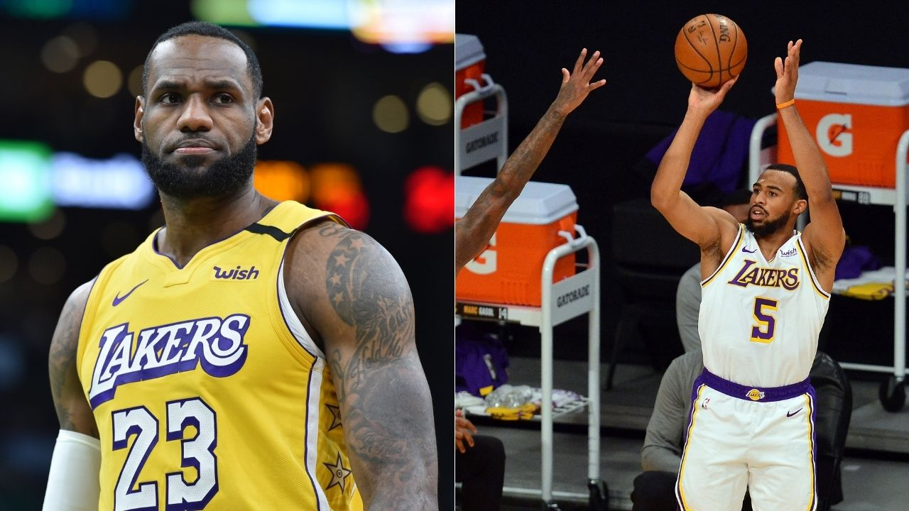 'LeBron James is going to trade him': Talen Horton-Tucker's 2015 tweet mocking Delonte West and LeBron's mom has gone viral
