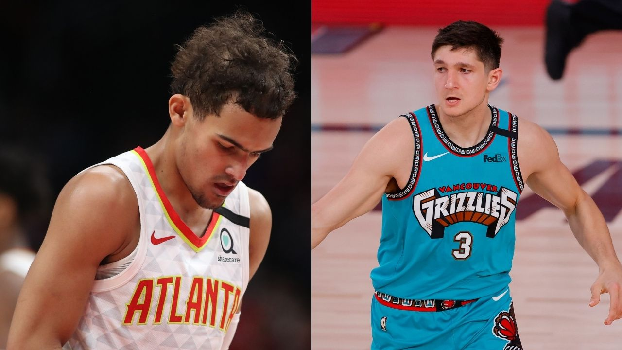 """""""This has gotta stop"""": Hawks star Trae Young calls out Grayson Allen for tripping him, Allen apologizes on Twitter"""