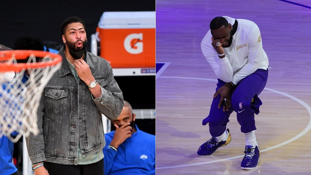 """""""We've got to get creative with LeBron James' birthday celebrations"""": Anthony Davis reveals plans for Lakers star's 36th birthday"""