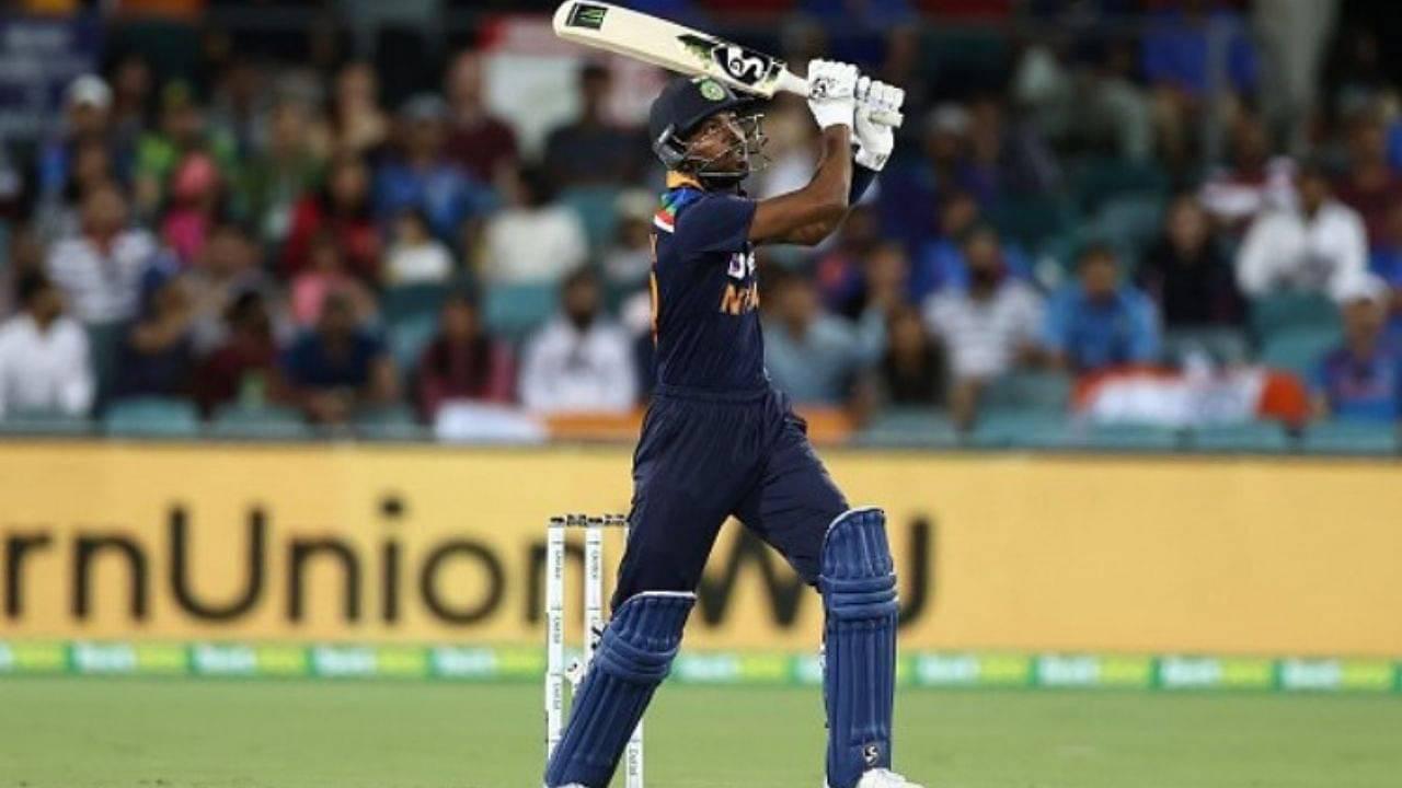 Hardik Pandya in new jersey: Twitter reactions on Pandya's sensational batting effort to win Sydney T20I