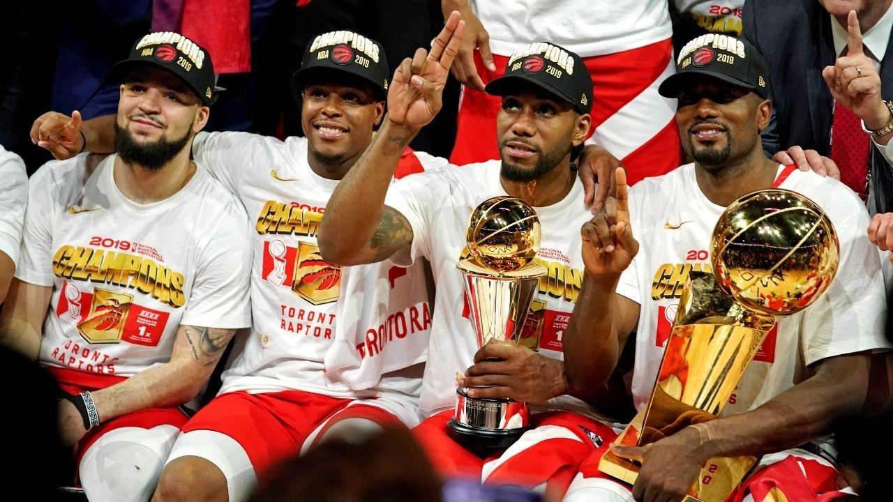 """""""Are you coming to the Clippers or no?""""- Kawhi Leonard's hilarious text to recruit Serge Ibaka"""