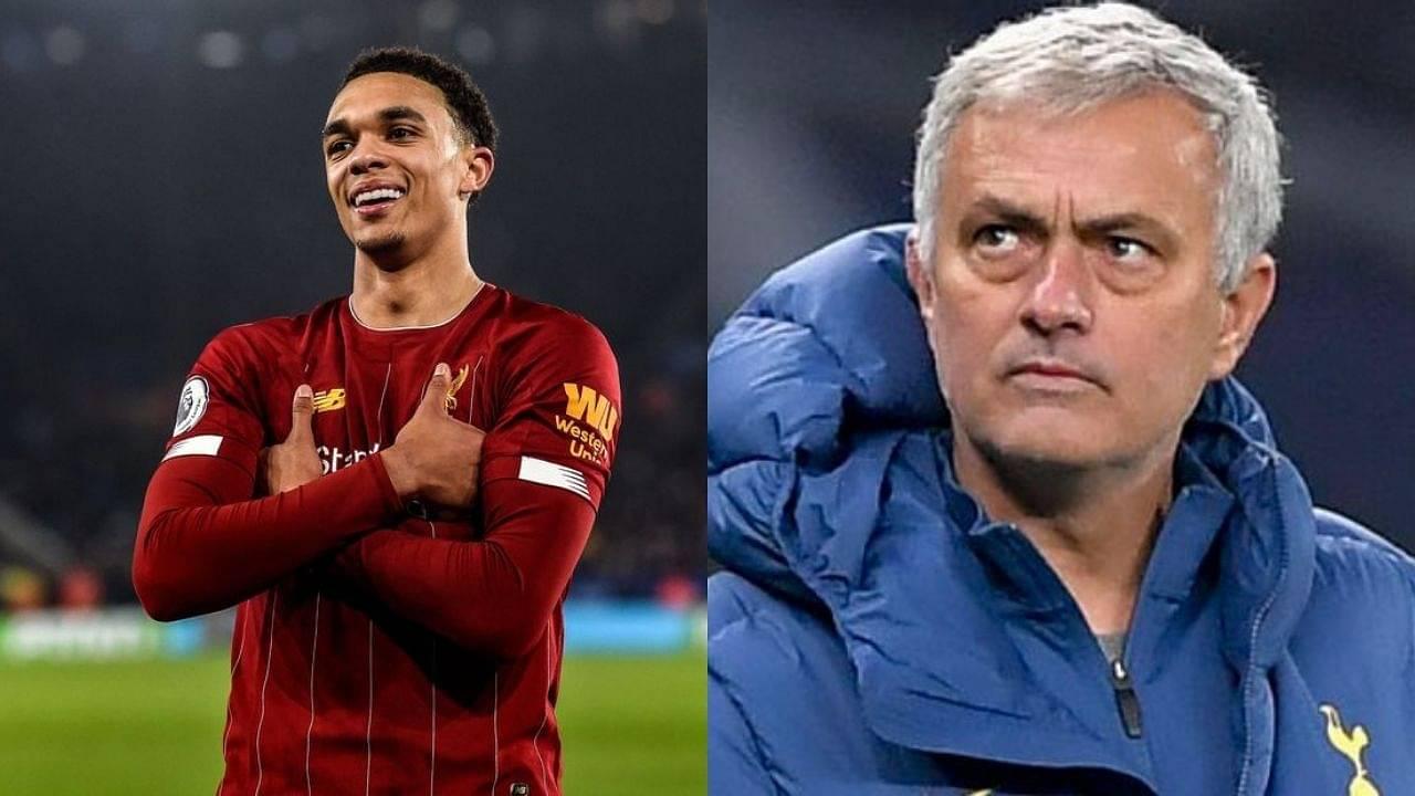 """Best Team Won"", Trent Alexander-Arnold Take Hilarious Jibe At Jose Mourinho Ensuing Liverpool's Win"