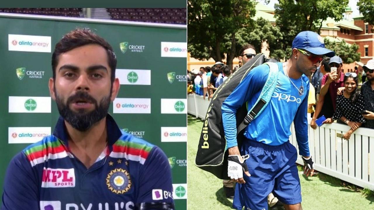 Hardik Pandya Test comeback: Virat Kohli reveals what Pandya needs to do to play Test cricket again