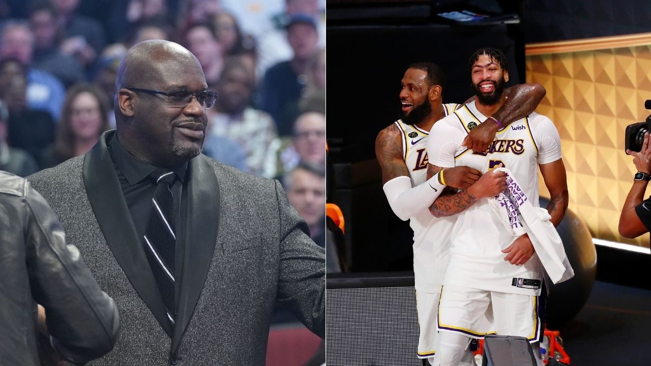 'LeBron James and Anthony Davis are not Shaquille O'Neal and Kobe Bryant': Shaq responds to comparisons between Lakers' duos