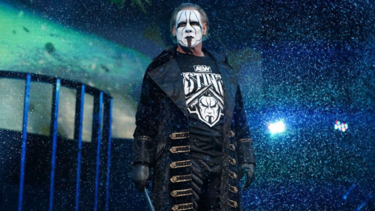 Sting gives an insight on his future with AEW