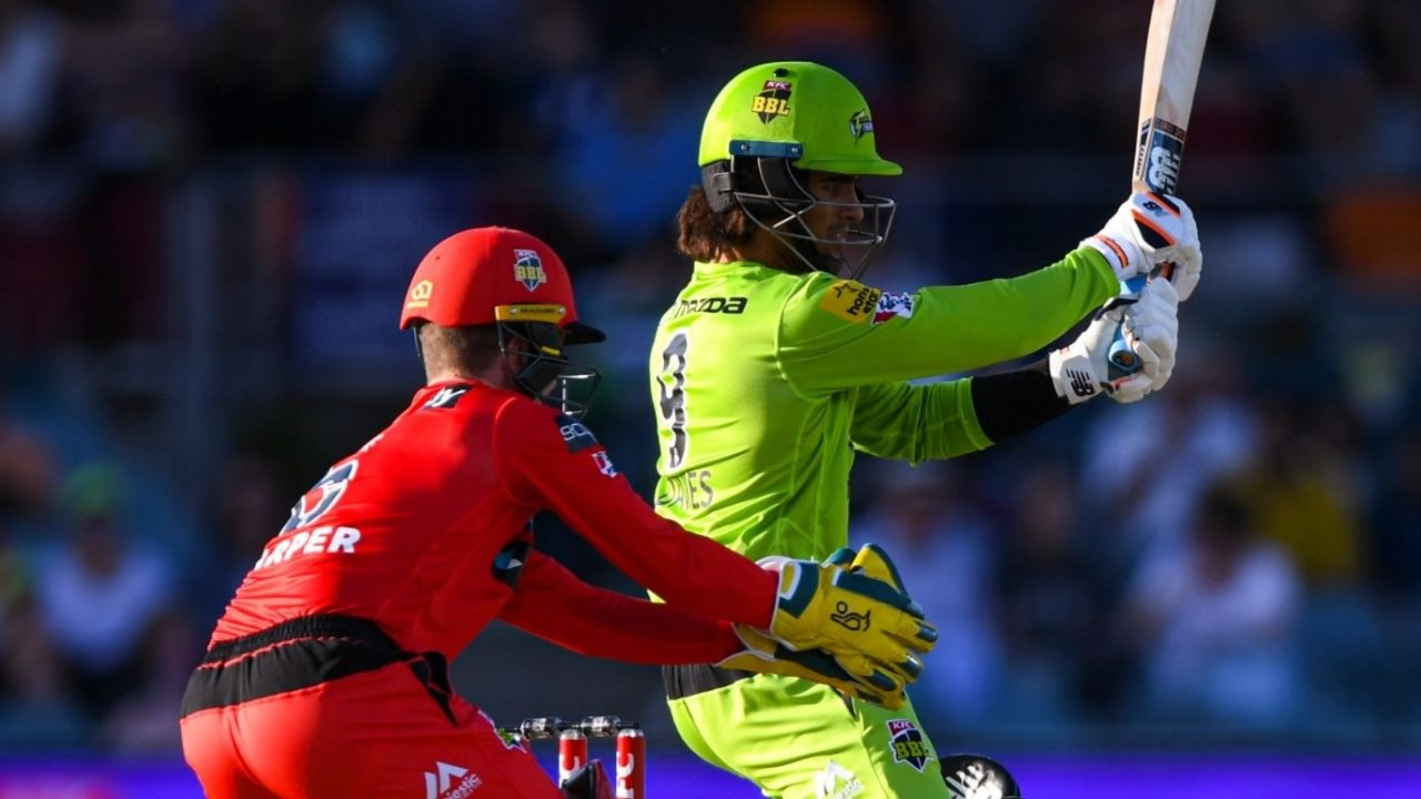 Nabi cricket: Watch Olivier Davies smashes four sixes in Mohammad Nabi's over in BBL 10