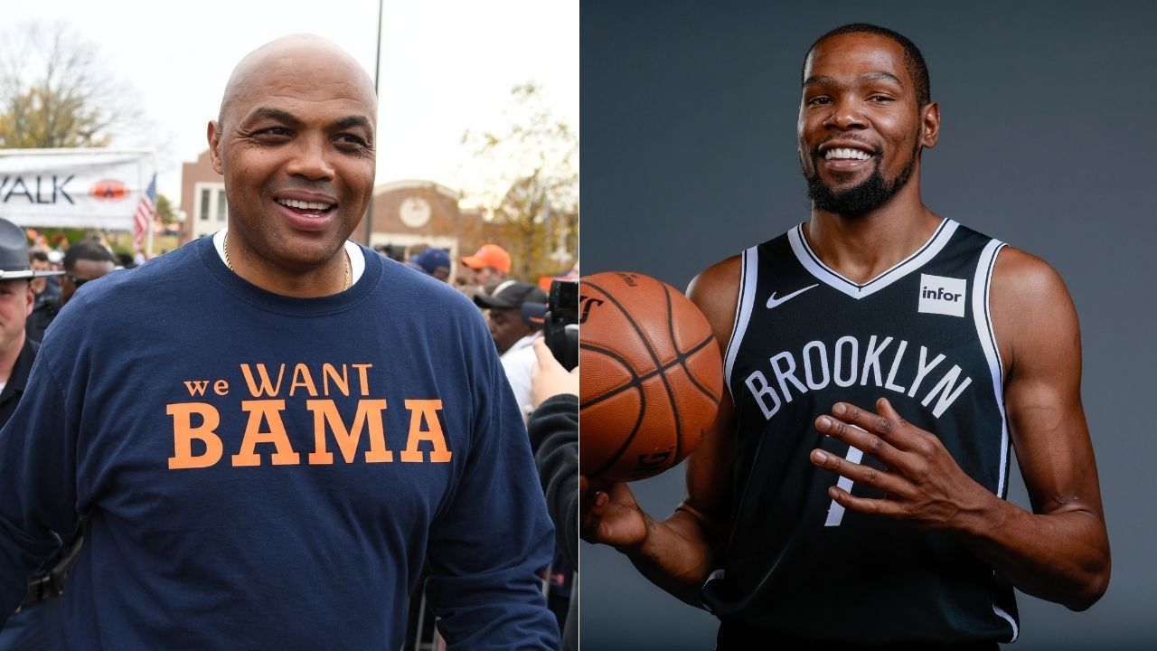 'Kevin Durant is excited about being here': Shaquille O'Neal roasts Charles Barkley after Nets star gives exceptionally bland post-game interview