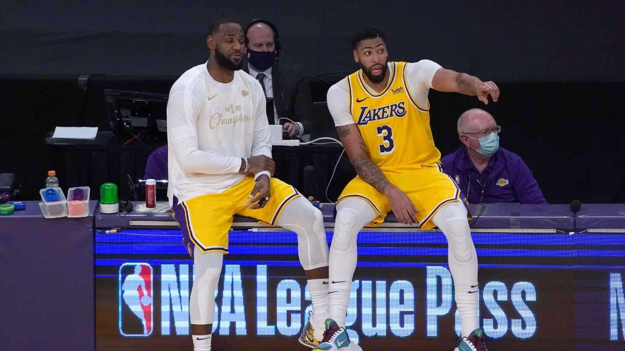 Is Anthony Davis playing tonight vs Mavericks? Lakers release injury report for star forward ahead of Christmas Day game vs Luka Doncic and co