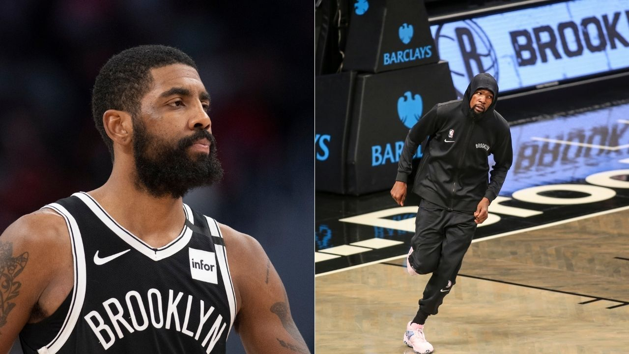 'Kyrie Irving sages his room before playing NBA 2k too': Kevin Durant reacts to Nets star's antics before game vs Celtics