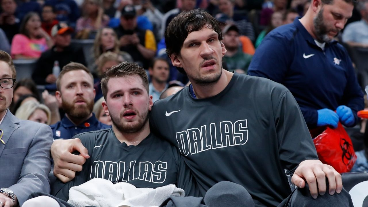'We're like Dumb and Dumber': Boban Marjanovic makes hilarious comparison to describe relationship with Luka Doncic