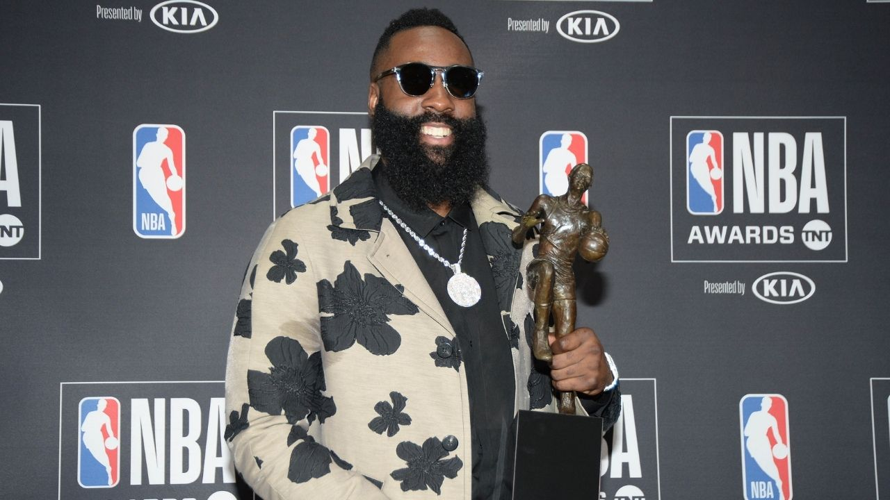 'James Harden is angling for a trade to the Nets': Rockets superstar spotted partying with Lil Baby in Las Vegas