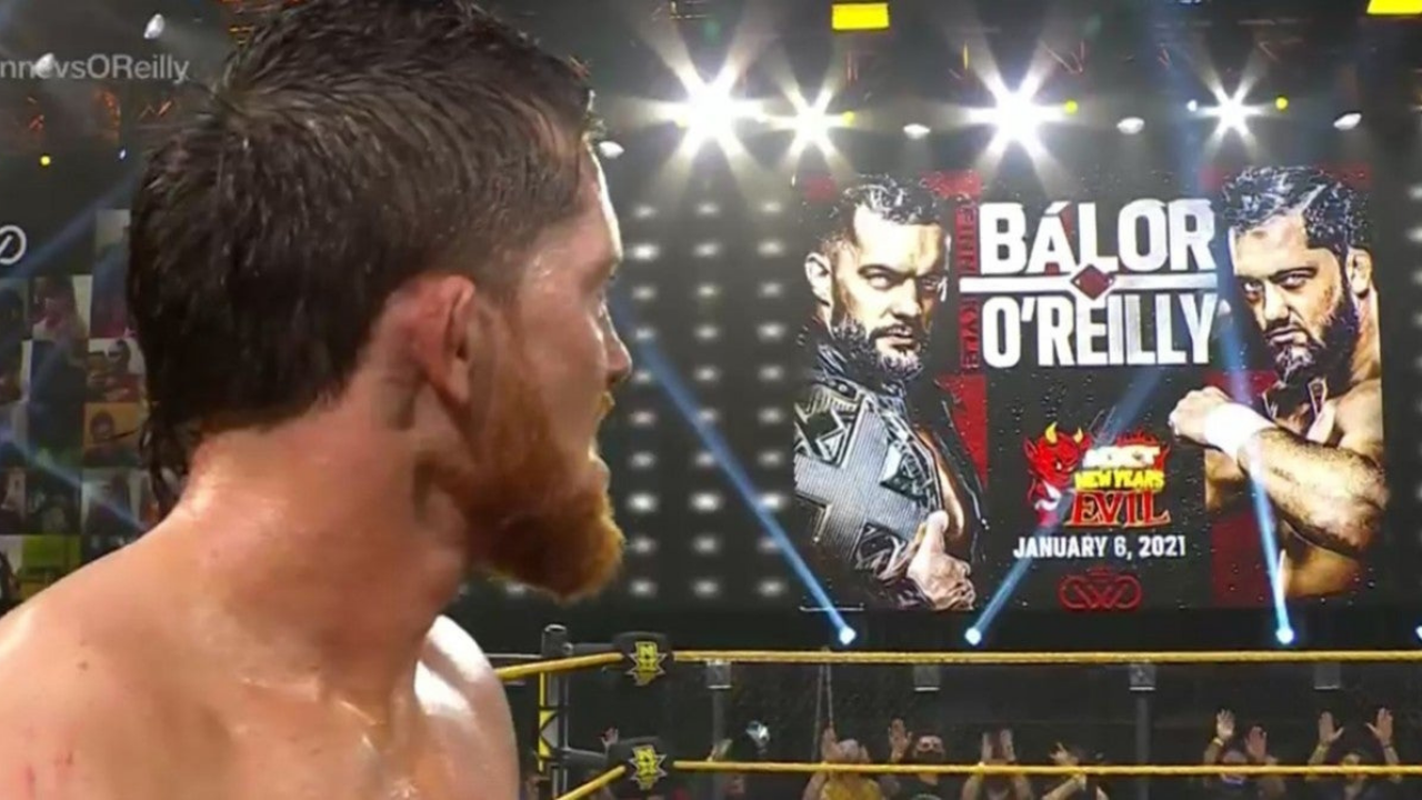Finn Balor vs Kyle O'Reilly set for the NXT Championship at New Year's Evil