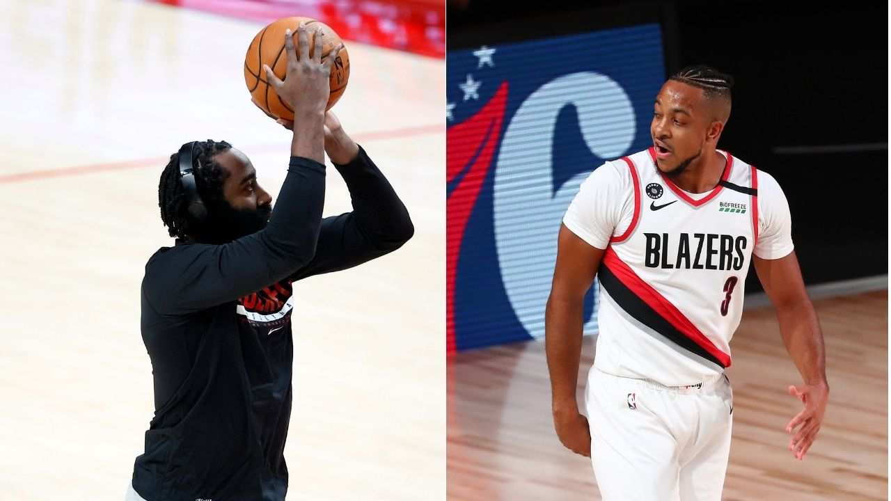 """""""James Harden is really good at basketball"""": CJ McCollum sings Houston star's praises after 44 point night amidst trade rumors"""