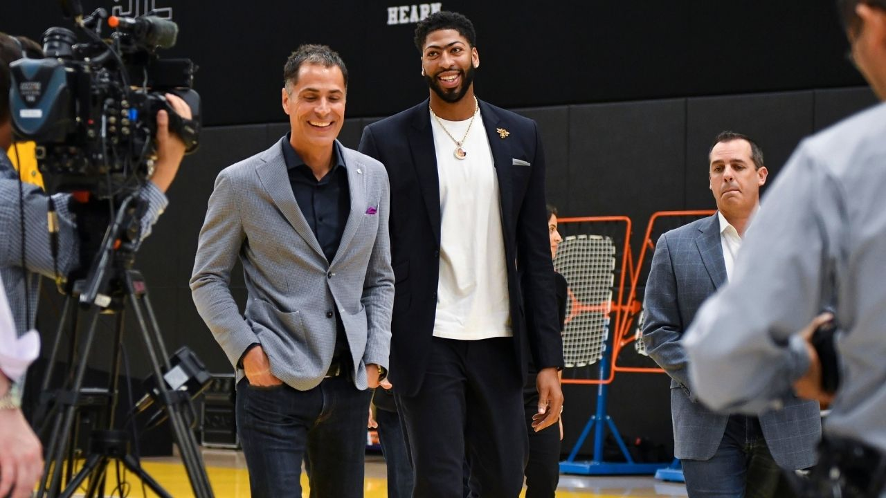 'Frank Vogel wants Anthony Davis to shoot 5 3-pointers a game': How LeBron James and Lakers star will use the big man next season