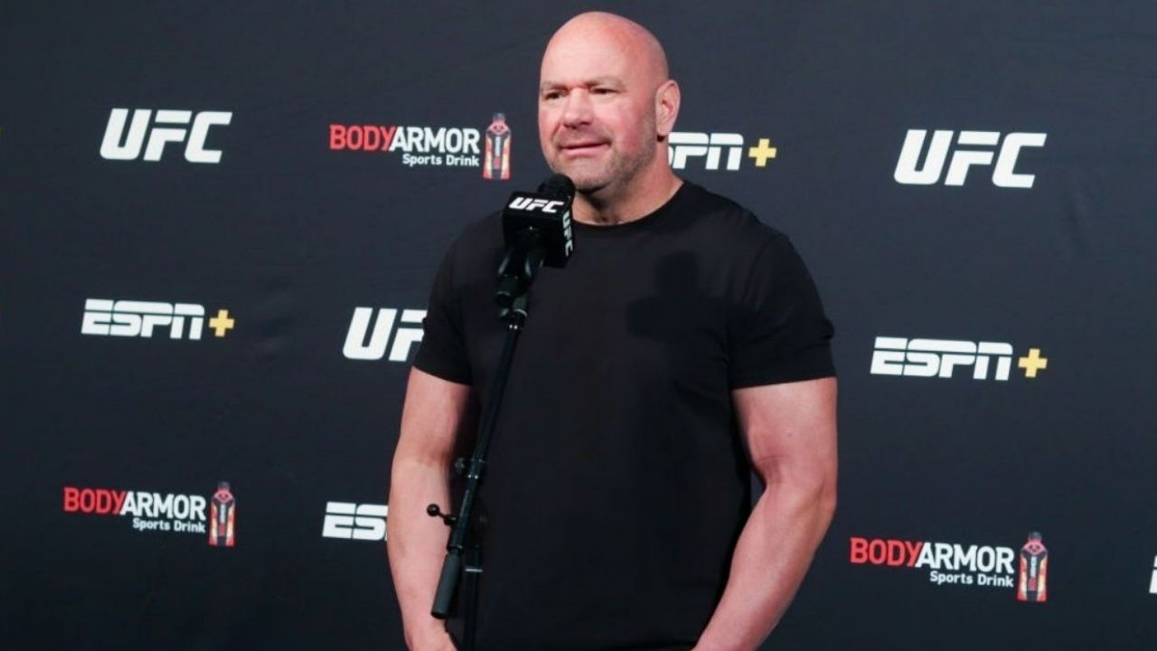 Dana White Hits Out At Media For Not Supporting His Endeavor To Bring Back Sports