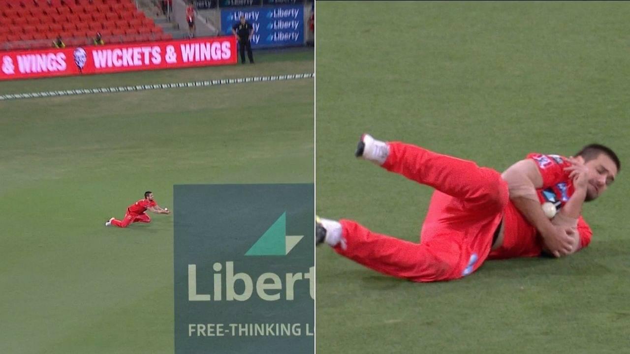 Rilee Rossouw catch vs Sydney Sixers: Watch Rossouw grabs terrific juggling catch to dismiss Jordan Silk in BBL 10