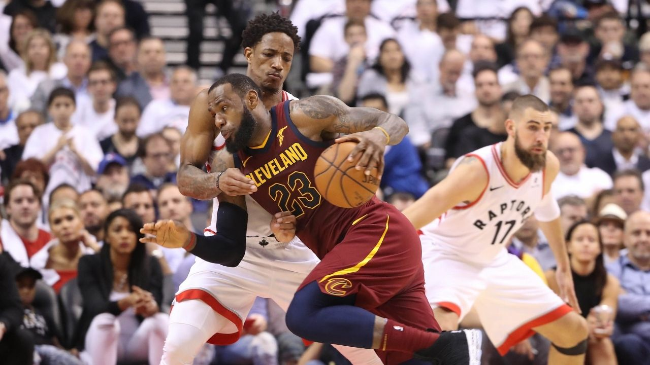 """""""The Raptors ABSOLUTELY SHOULD DeMar DeRozan's jersey!"""": Lakers' LeBron James gives his take on DeRozan and his legacy for 'The North'"""