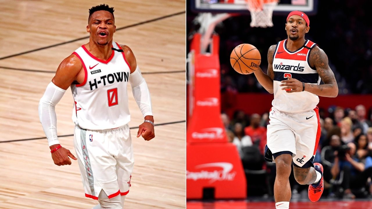 'Russell Westbrook is a walking triple-double': Bradley Beal effusive in his praise of new Wizards teammate