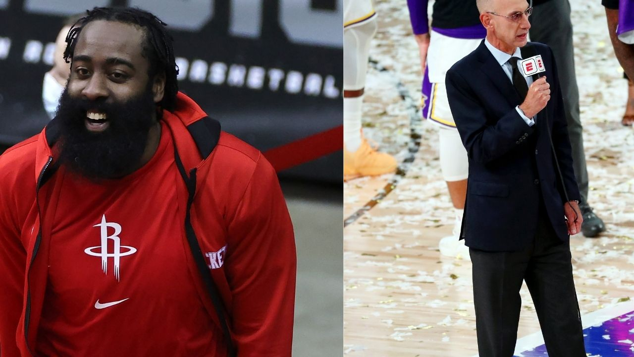 'They need to act professionally, sort things in-house': James Harden responds to Adam Silver's trade request with a weird post