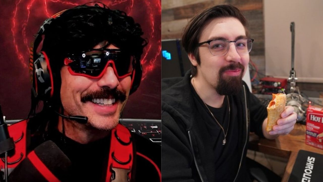 """""""What the hell is this"""": Dr. Disrespect mocks Shroud over Hot Pockets ad"""