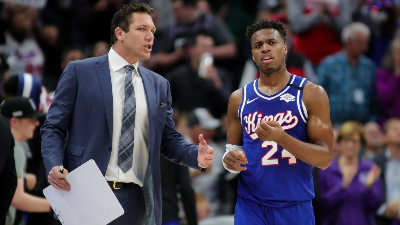 'You have the 3-point champion. Play him!': When Kings fan berated head coach Luke Walton for benching Buddy Hield