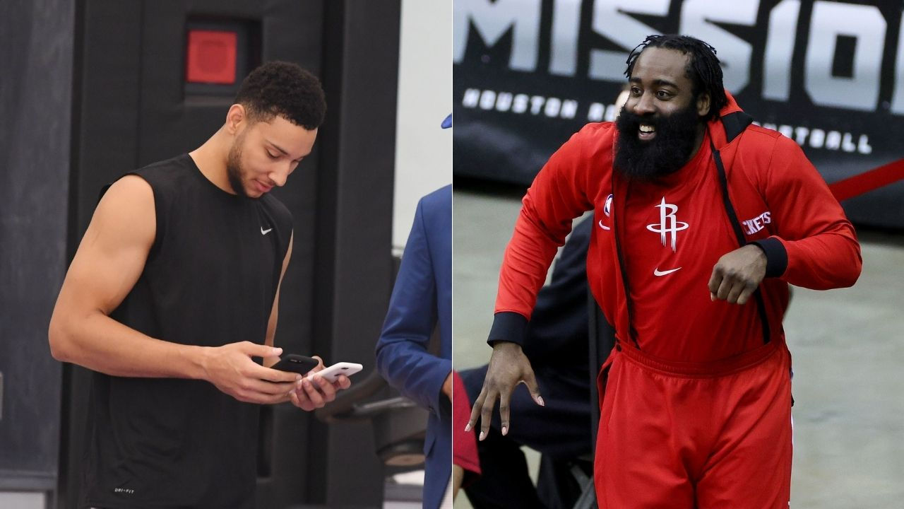 'James Harden to Philly confirmed': Sixers Twitter takes subtle shot at Ben Simmons, posts Daryl Morey pic with The Office quote