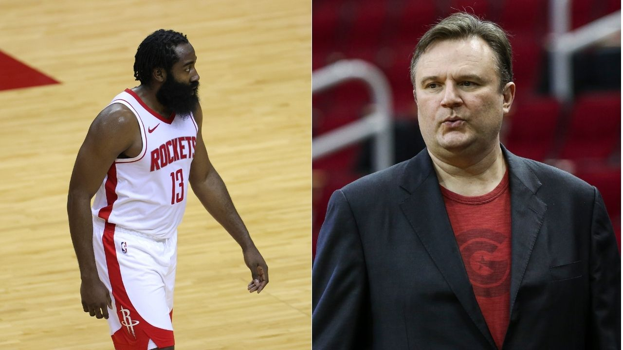 'Daryl Morey is getting James Harden to Philly': Fans feel Rockets star's trade to Sixers is confirmed after automated tweet from GM