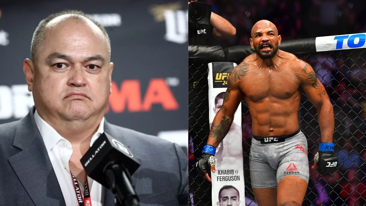 'Everybody wanted to see the Yoel Romero vs. 'Rumble' Johnson fight': Did Bellator president Scott Coker sign Yoel Romero for only one potential fight?