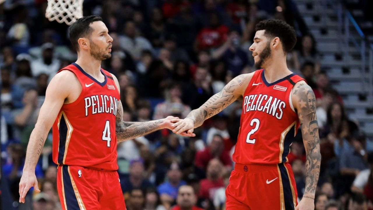 'I tell Lonzo Ball every f**king day to stop passing up shots': JJ Redick advises Pelicans teammate to be more assertive