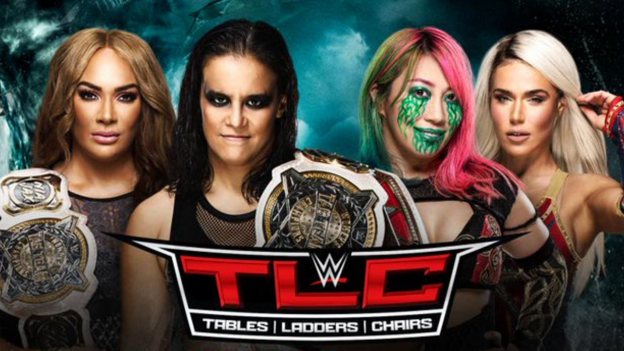 Nia Jax and Shayna Baszler vs Asuka and Lana announced for the Women's Tag Team Title at WWE TLC