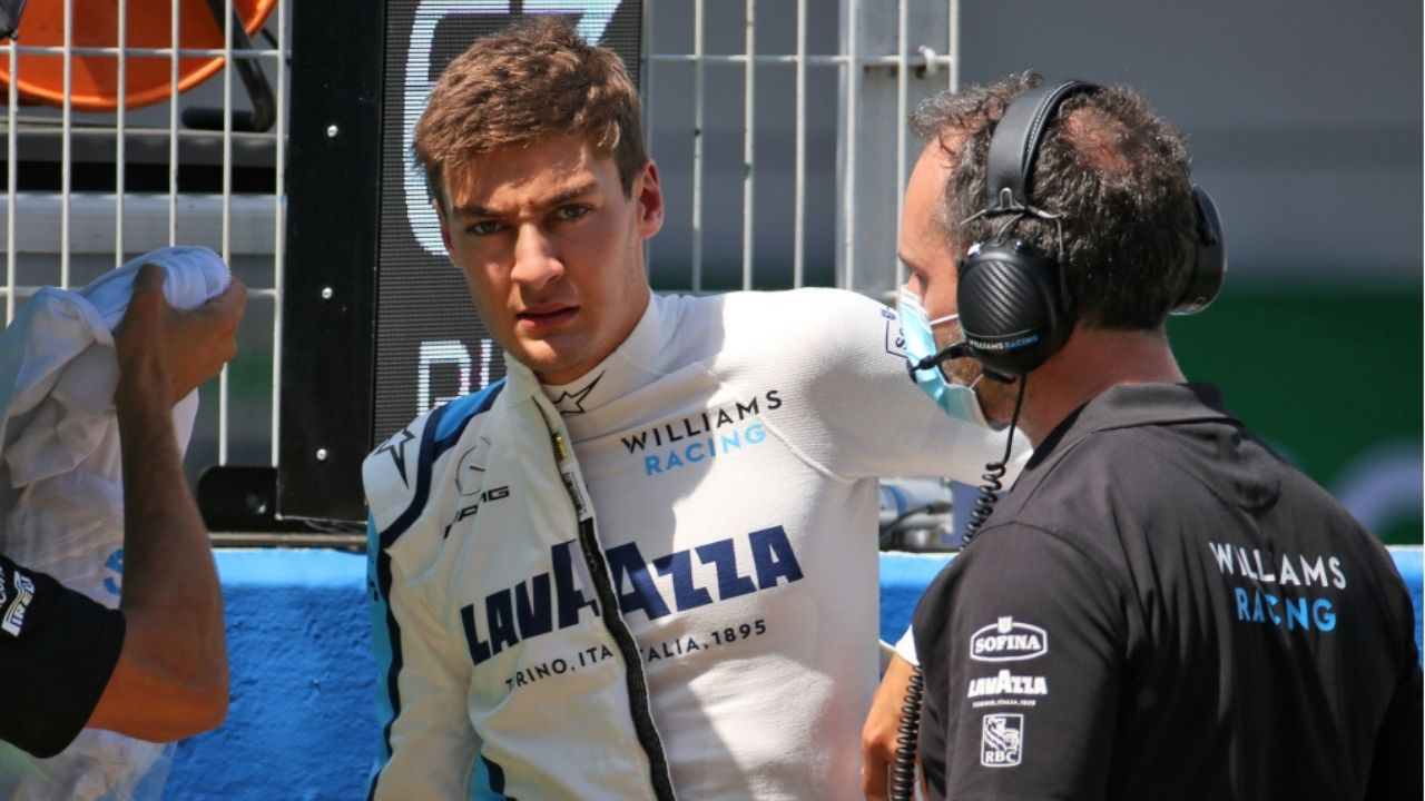 """""""Shame we couldn't see George in the Mercedes again this weekend""""- Williams team boss"""