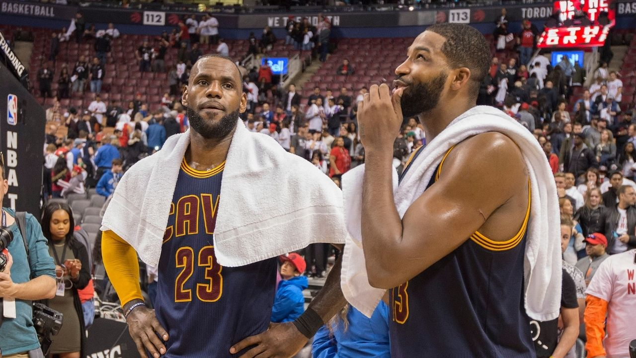 'No, he's the greatest': Tristan Thompson calls Lakers' LeBron James the GOAT over Michael Jordan in Celtics presser