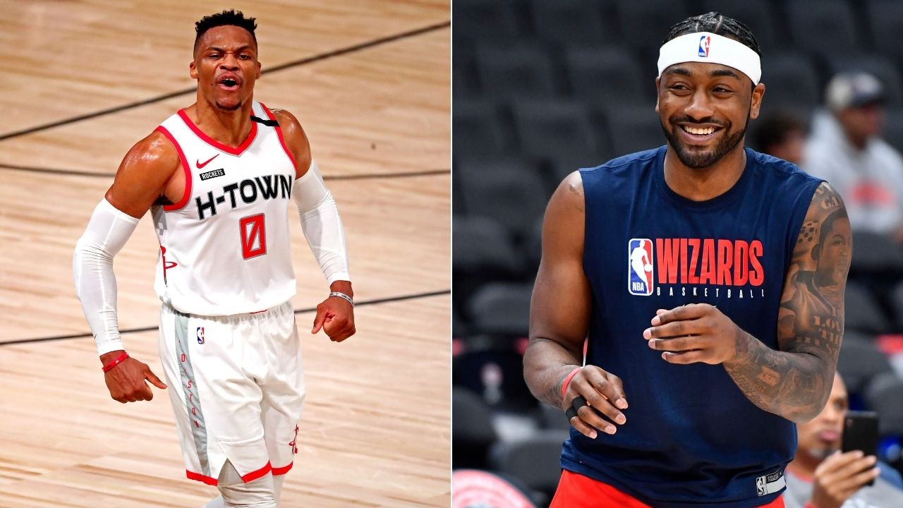 """James Harden prefers John Wall over Russell Westbrook?"": Rockets superstar fancies former Wizards star as running mate"