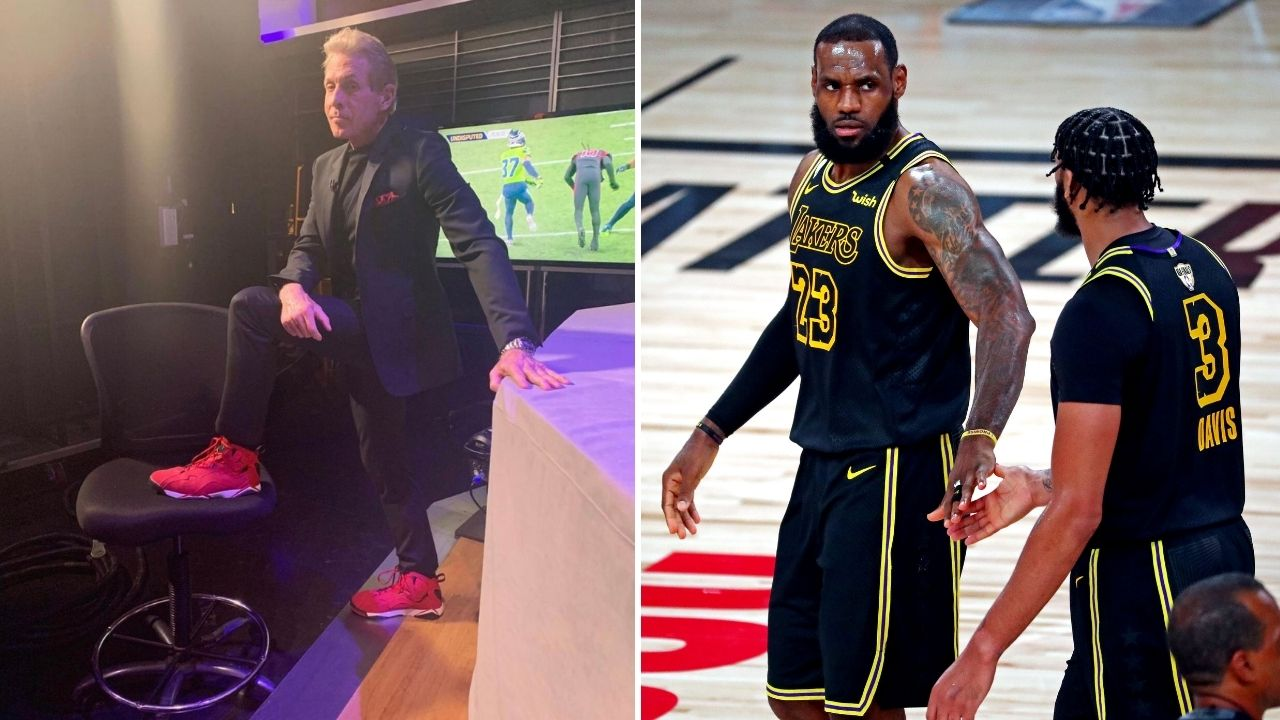 """""""LeBron James looked shockingly out of shape"""": Skip Bayless puts Lakers star on blast for lacklustre performance in season opener"""