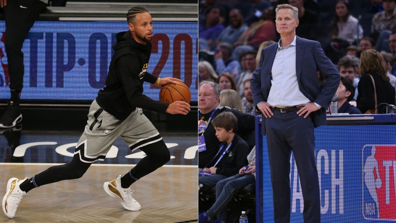 'It's probably a Guinness world record': Warriors coach Steve Kerr was in disbelief as Steph Curry hit 105 straight corner 3-pointers in practice